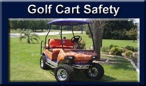 Golf Cart Safety and Legal Issues