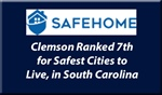 Clemson is One of the Safest Cities to Live in South Carolina