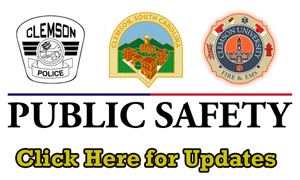 City of Clemson Public Safety Information